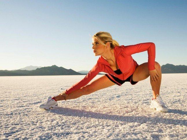 Ejercicios de flexibilidad. Saludalia.com